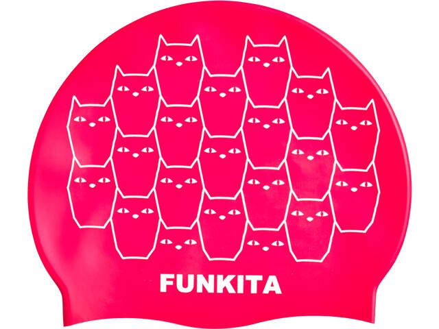 Funkita Bonnet de bain en silicone, kitten kluster